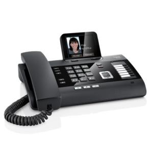 Gigaset DL500A – Komforttelefon mit AB und Dect/Bluetooth Modul schwarz