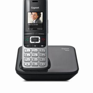 Gigaset S850 – Schnurlostelefon mit Farbdisplay,Vibracall,Bluetooth